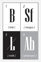 Be Safe Lab lentele