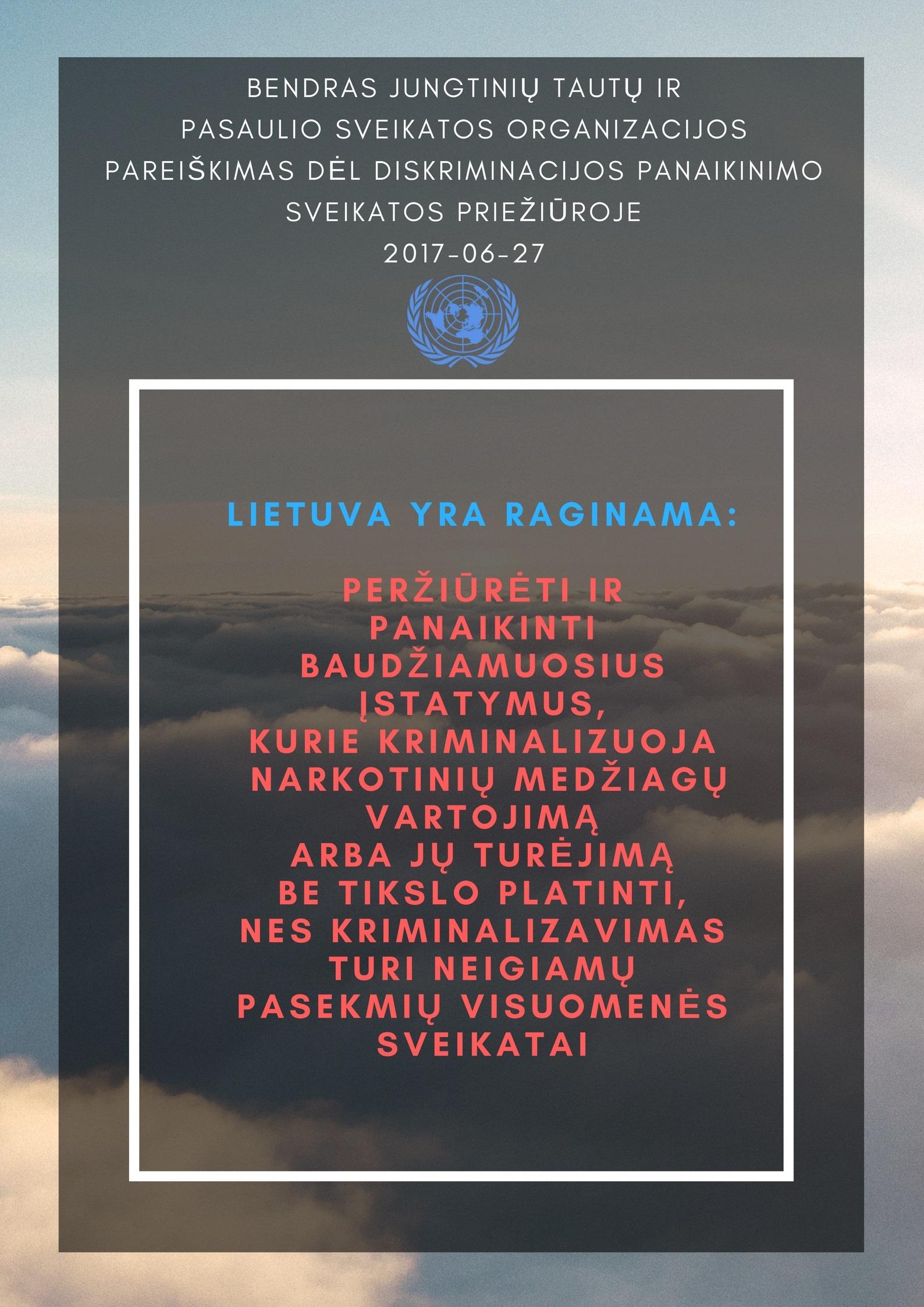 JTO pareiškimas infografikas